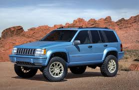 modified jeep 2017 driving the jeep grand one concept vs 2017 grand cherokee off road