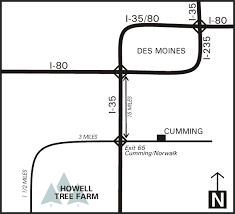 directions howell tree farm