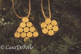 clean 40 spent brass ornaments ammo ornaments