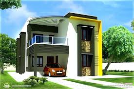 House Front Elevation Designs For Double Floor In India