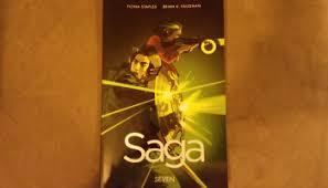 saga volume 7 saga volume 8 tinted edges