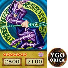1x dark magician yugioh anime tv show non holo orica card 069 on