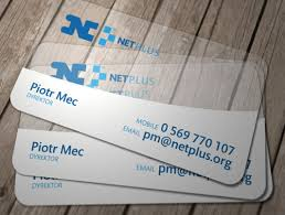 Plastic Business Card Printing Clear Plastic Business Cards Bracha Printing