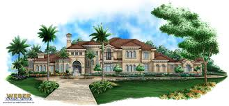 mediterranean home plan 10 000 sq ft mansion floor plan