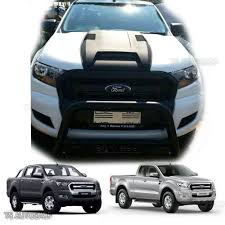 Ford Ranger Design Matte Black Hood Scoop Bonnet Cover For Wildtrak Ford Ranger Mk2