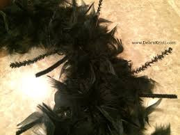 black feather wreath halloween a raven ring wreath for halloween debra kristi