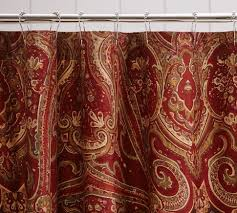 Paisley Shower Curtains Red Paisley Curtains Curtains Ideas