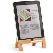 tablette recette de cuisine lutrin en bois pour tablette tactile achat vente