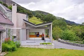 Architect House by Landscape Room Sligo House Irish Residential Building E Architect