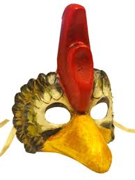venetian bird mask chicken venetian mask partynutters uk