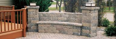 Building Stone Patio by Building A Country Manor Bench With Columns