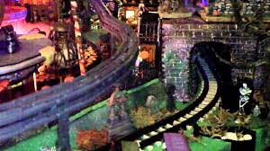 miniature halloween village halloween village 2011 carnevil village youtube