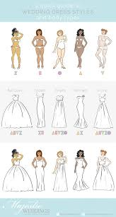 types of wedding dress styles a guide to wedding dresses and types