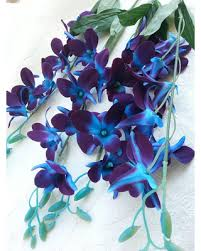blue orchids for sale hot sale 1 galaxy orchid stem artificial purple blue orchid