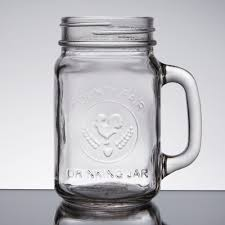 Mug Without Handle by Core 16 Oz County Fair Mason Jar Drinking Jar With Handle 12 Case