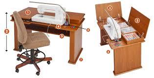 koala sewing machine cabinets used the sewing station my studio style