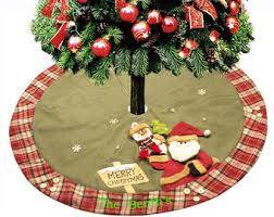 Christmas Stocking Tree Decoration by On Sale Personalized Christmas Stockings U0026 Tree Skirts Red