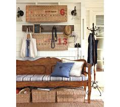 pottery barn entryway storage bench pottery barn entryway bench