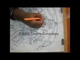 tanjore painting tutorial diy learn how to make tanjore
