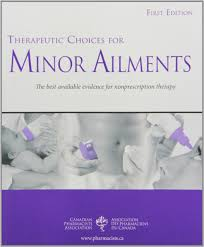 therapeutic choices for minor ailments see cgen1 cpha