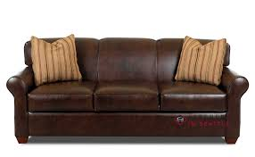 Sleeper Sofa Customize And Personalize Calgary Leather Sofa By Savvy