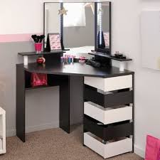 corner makeup vanity table wayfair