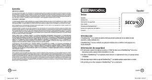 user layout en español secu4 bwd77585211314 bluetooth watchdog user manual layout indd