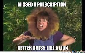 Crazy Lady Meme - crazy lion lady by blake allen 1806 meme center