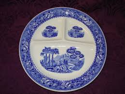warwick china tudor grill plate from anniesavenue on ruby