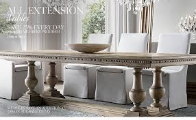 st james rectangular extension dining table image result for restoration hardware banquette seating pv white