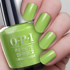 to the finish lime infinite shine opi