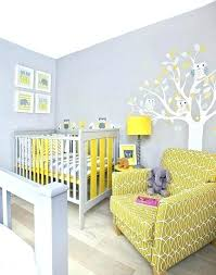 Yellow Nursery Decor Grey And Yellow Nursery Ideas Katecaudillo Me