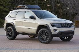 jeep concept truck jeep grand cherokee ecodiesel trail warrior concept vehicle