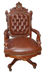 Egyptian Chair American Renaissance Victorian Jelliff Rosewood Armchair With