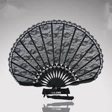 black lace fan buy black lace fan and get free shipping on aliexpress