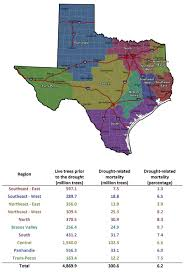 Texas Wildfire Danger Map by Connect Texas A U0026m Forest Service Survey Shows 301 Million Trees