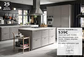 meubles de cuisine meubles bas hauteur caisson 80 cm système metod ikea