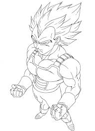super saiyan coloring pages dragon ball goku super saiyan 3