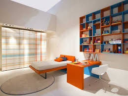 Kids Bedroom Design With Wall Mounted Study Table HomesCornerCom - Study bedroom design