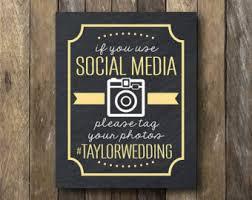 rustic wedding sayings wedding hashtag sign rustic wedding sign oh by weddingaffections