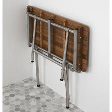 Teak Wood Shower Bench 26