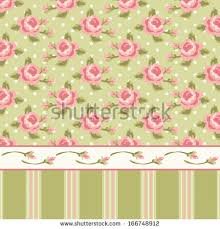Shabby Chic Style Wallpaper by Retro Wallpaper Shabby Chic Style Roses Stock Vector 166750922