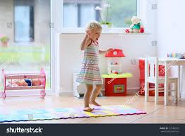 happy little child cute blonde toddler stock photo 213184243