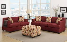 Living Room With Dark Brown Sofa by Sofas Center Brown Sofa Set Sleeper L Shape With Ottoman