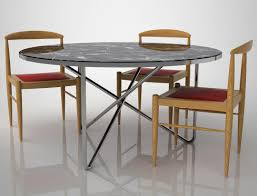 Stainless Steel Dining Room Tables by Diamond Sofa Avalondt Avalon Round Glass Top Dining Table On