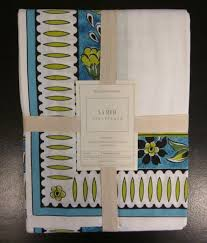 Williams Sonoma Table Linens - williams sonoma la med lamed tablecloth 70x108 table linen