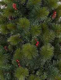 6ft pre lit mount beacon berry pine cone tree m s