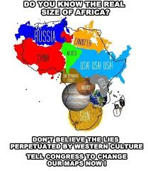 True Size World Map by Pol Politically Incorrect Thread 105472481