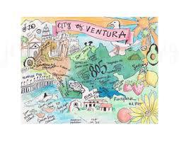 ventura county map ventura california map ventura illustration ventura county