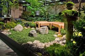 japanese style garden in the house an attractive miscellaneous